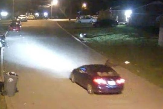 MNPD officials are looking for a dark blue Honda Civic that is connected with the fatal shooting of a Nashville teen.