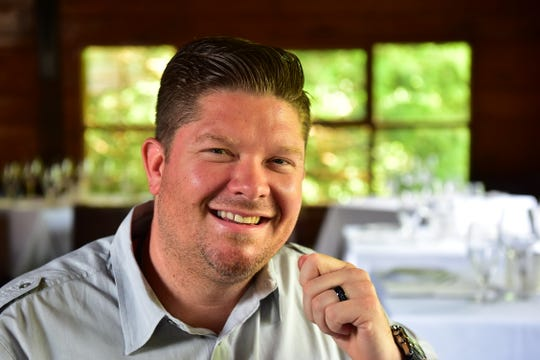 Jamie Knott, owner and chef of Saddle River Inn and Saddle River Cafe