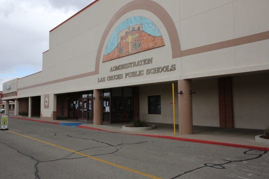 The Las Cruces Public Schools administration building at 505 S. Main Street in Las Cruces. Friday, March 13, 2020.