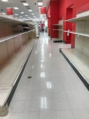 The toilet paper aisle at Target.