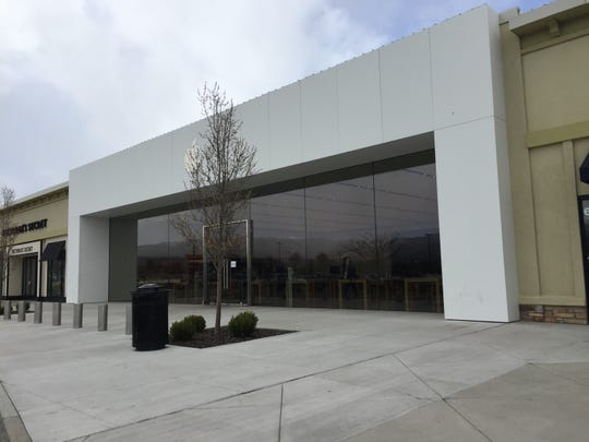 The Apple Store in South Reno on March 14, 2020, which was closed amid the push to slow the spread of COVID-19.