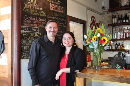 Cecilia Ritter-James and Jeff James, pictured on Friday, March 13, have sold ACME Cafe, their 7-year-old neighborhood restaurant in South Salem.