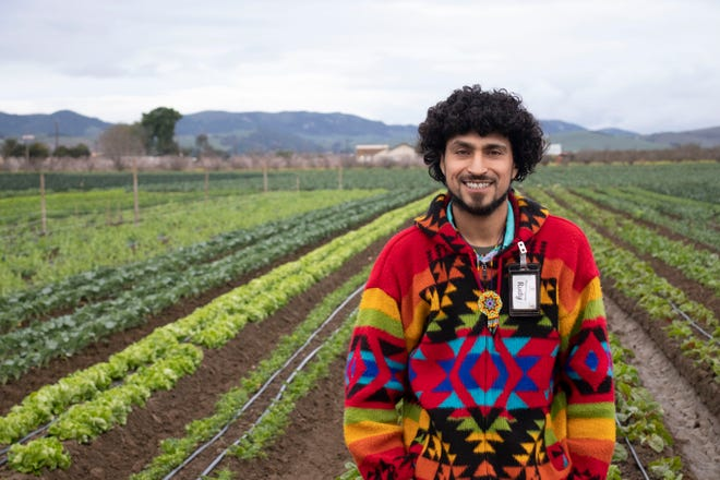 Salinas native Rudy Jimenez is the owner of Green Thumb Organics.