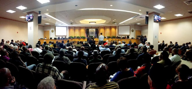 The City Council meetings at Government Plaza have people who consistently speak at every meeting.