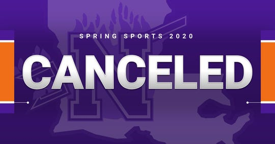 NSU has cancelled the remain spring sports schedule.