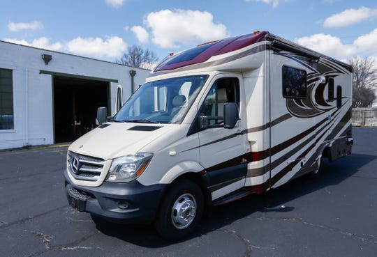 Al Miller donated this recreational vehicle to the AIDS Project of the Ozarks.