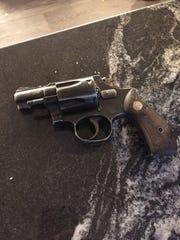 A firearm seized from an Oxnard residence.