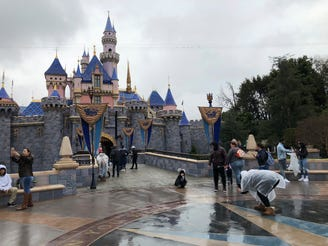 Disneyland, which has been closed since the middle of March, is due to reopen July 17.