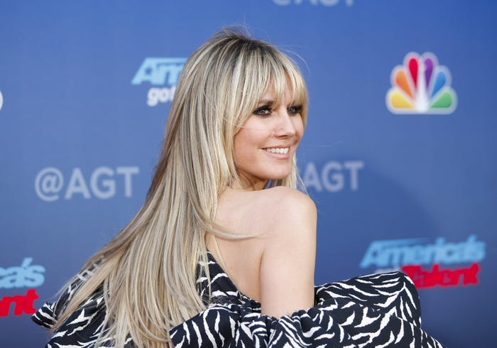Heidi Klum says she can't get a coronavirus test after 'feeling feverish' at 'AGT'