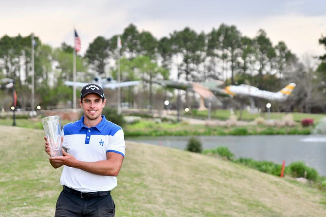 Greg Eason of Kissimee, Fla., won the All-Pro Tourmament held Saturday at Oak Wing Golf Club after shooting 23 under par for a total of 265 strokes. Eason earned a $35,000 purse. The 19th annual Hixson-Ford Pro-Am Tournament Coca-Cola/Dr. Pepper/Wal-Mart Open was held earlier last week with 33 teams that played to raise funds for the Manna House, a local charity that feeds those in need.