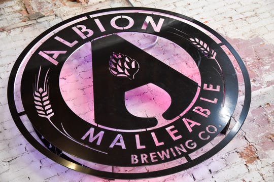 Albion Malleable Brewing Co. in Albion, Mich. on Saturday, March 14, 2020.