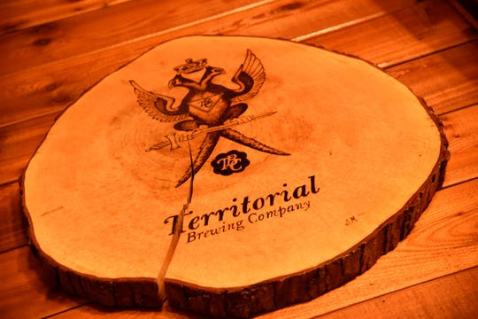 Territorial Brewing Company in Springfield, Mich. on March 14, 2020.