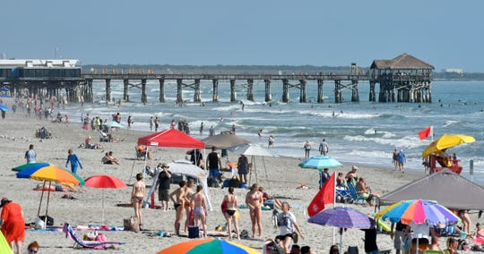 A proposal to close Brevard County's beaches during the midday is being considered by county officials.