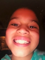 Jasmine Russell is one of three children allegedly abducted from a home in Franklinville.