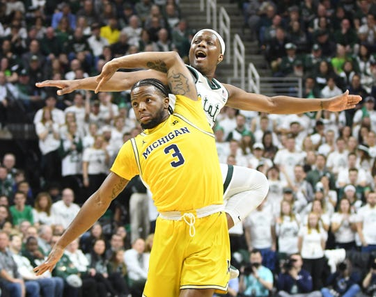 Michigan State and Michigan will not learn who they might have played in the NCAA Tournament.