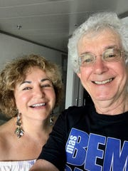 Doug and Doris Bernstein are quarantined on a cruise ship in Brazil after a passenger tested positive for the novel coronavirus.