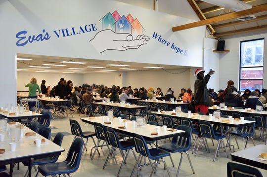 The Community Kitchen at Eva's Village in Paterson.