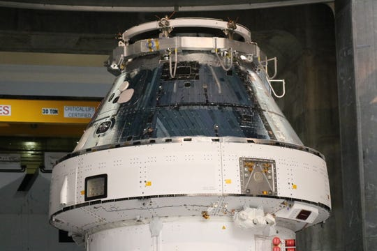 For 47 days straight — a total of over 2,000 hours — all in a continuous simulated vacuum of space, Orion sat in temperatures as high as 300 degrees and as low as 250 below zero.
