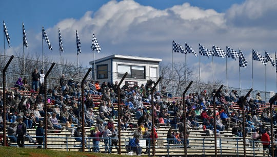 Williams Grove Speedway opens their 2020 season with 410 Sprints, Sunday, March 15, 2020. John A. Pavoncello photo