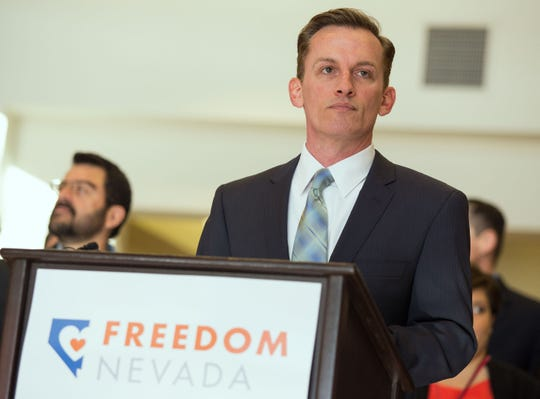 Tod Story Tod Story, executive director of American Civil Liberties Union of Nevada. (AP Photo/Las Vegas Review-Journal, Samantha Clemens)