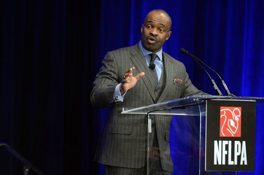 NFLPA executive director DeMaurice Smith was in favor of passing the new CBA, but his members were split almost 50-50.