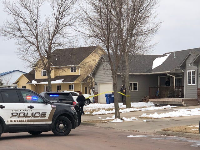 Officers responded to a report of a stabbing around 2 p.m. on Saturday on the 5800 block of N. Gold Nugget Avenue.