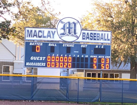 Maclay defeated JPII 5-0 on March 6. In the win, pitcher Ryker Chavis threw a perfect game.