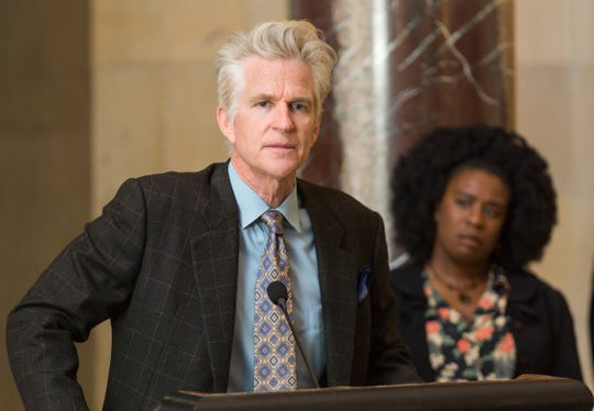 "Matthew Modine as Congressman Cliff Williams in the drama ""Miss Virginia,"" a Vertical Entertainment release."