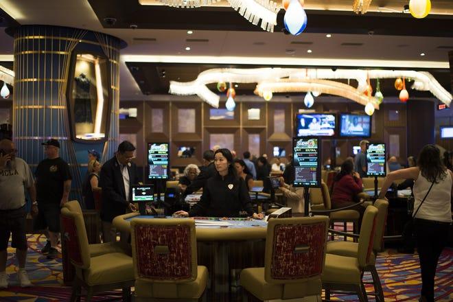 The gaming floor inside the Hard Rock Hotel & Casino Thursday, June 28, 2018 in Atlantic City, N.J.