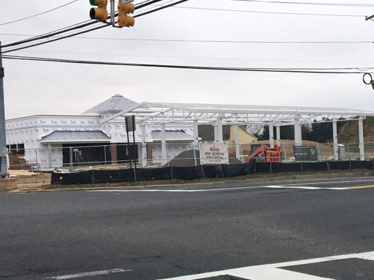 A Wawa was torn down and a new one is being built at the corner of Woodlane and Springside roads in Westampton. It's on tap to open in early May.