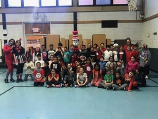 Read Across America event at Parker Elementary  School