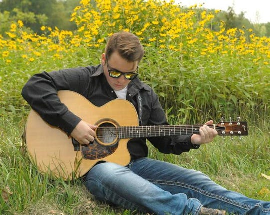 """Boone native Hawk McIntyre, 20, recently appeared on NBC's """"The Voice."""""""