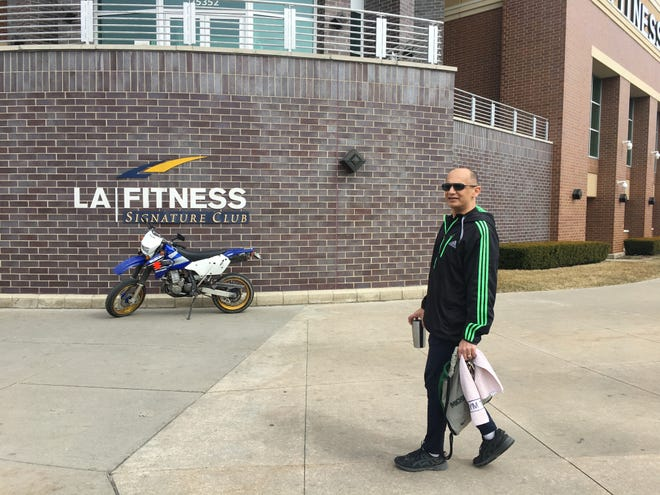 Gavin Haque of Royal Oak said the mandatory two-week closure of all Michigan gyms and fitness centers is an inconvenience, but he understands why it was necessary.