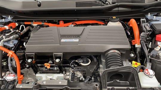 2020 Honda CR-V hybrid engine compartment