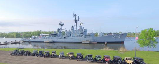 The USS Edson and Saginaw Valley Naval Ship Museum