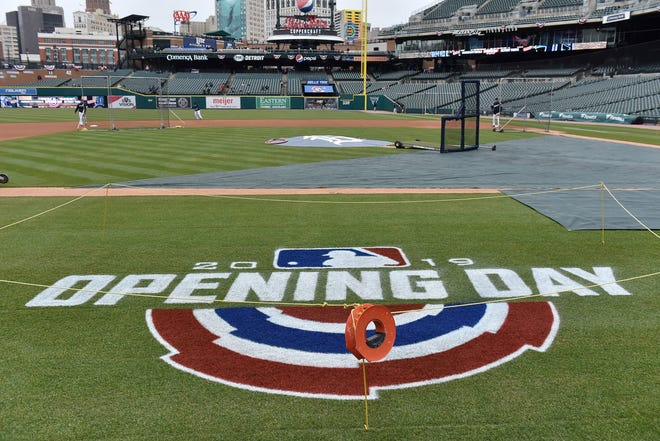 Major League Baseball pushed back opening day until mid-May at the earliest on Monday because of the new coronavirus after the federal government recommended restricting events of more than 50 people for the next eight weeks.