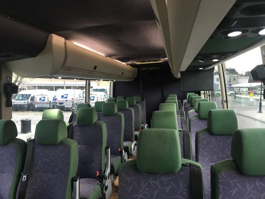 The D2A2 pilot program launched this week offering hourly rides between Detroit and Ann Arbor. The ridership was low due to coronavirus, Andrews writes.