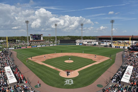 Spring training has been halted because of the coronavirus pandemic.