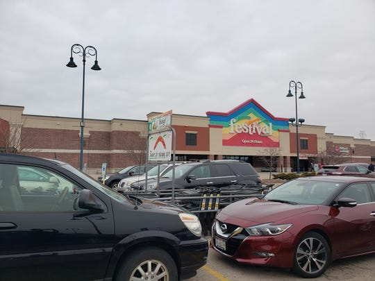 Festival Foods, 1125 E. Johnson St., Fond du Lac, is working hard to keep on top of stocking and sanitizing.