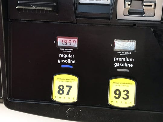 Gas at Costco at Gulf Coast Town Center dipped below $2, the first time in Florida since 2016.