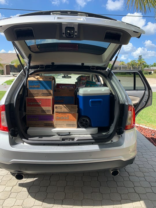 The Girl Scouts of Gulfcoast Florida, which is headquartered in Sarasota and serves nearly 6,000 scouts in a 10-county spread in Florida, canceled all cookie booth sales during the final week of the sales season. Now, girls are focusing on door-to-door sales, using social media and walkabouts, or wagon-based sales, to sell the last of their cookies.