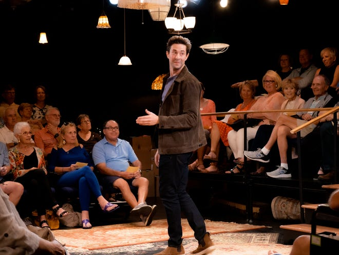 """Michael Satow stars in Florida Rep's """"Every Brilliant Thing"""""""