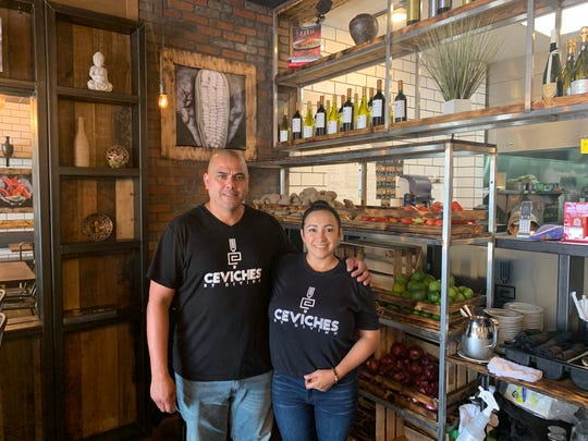 Diana and Pedro Vargas own the first Ceviches by Divino outside of the Miami area. The small chain has opened a location in Fort Myers.