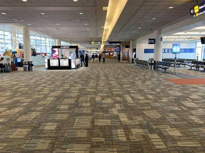 State Sen. Mike Cuffe, R-Eureka, took this photo Saturday of the airport in Minneapolis.