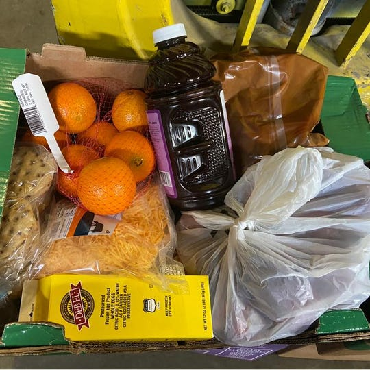 The Center Pole, a nonprofit organization that helps people on the Crow Reservation access food, is continuing to distribute food boxes, but is taking precautions with delivery so as not to spread the coronavirus.