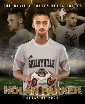 Nolan Parker was described by teammates, coaches and friends as an amazing athlete and role model.