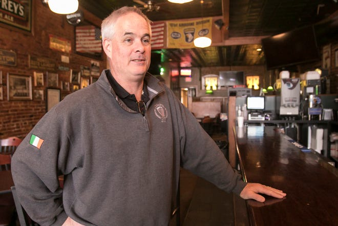 Kevin Cleary, co-owner of Cleary's Pub in downtown Howell, says he wishes he'd known yesterday that restaurants would be instructed to close by 3 p.m. on Monday, March 16, 2020, so he didn't start cooking the beef stew for the St. Patrick's Day crowd he normally serves.
