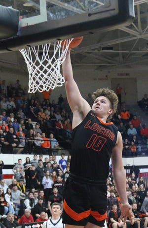 Lucas' Logan Niswander was named first team all-Ohio on Monday.