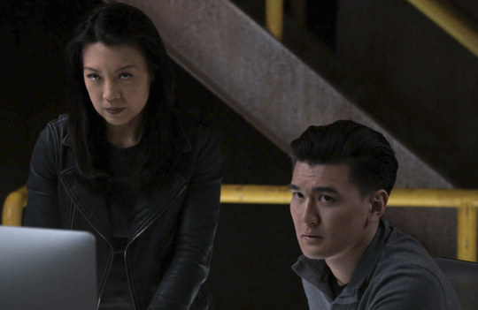 """Ming-Na Wen and Chen Tang star in the Marvel Comics-inspired ABC series """"Agents of S.H.I.E.L.D."""""""