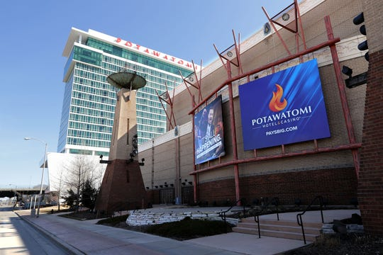 Potawatomi Hotel & Casino is shutting down indefinitely, beginning Tuesday.